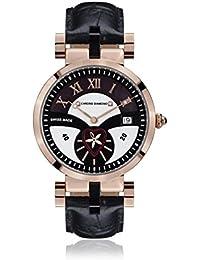 Chrono Diamond 82112_schwarz-38 mm - Reloj , correa de cuero color negro