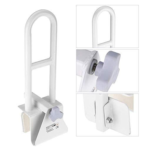 Badewanneneinstiegshilfe, Weiß Aluminium Legierung Sicherheit Bar Wannengriff, Einstiegshilfe für Badezimmer