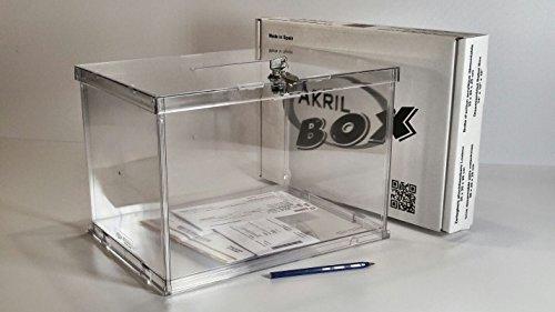 AKRIL-BOX Boîte d'action acrylique sécurisée démontable d'occasion  Livré partout en Belgique