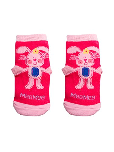 Mee Mee Bottle Cover - Rabbit Design (Pink, Pack of 2)
