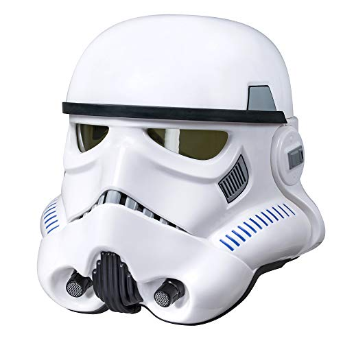 Kostüm Karton Stormtrooper - Hasbro B9738EU4 - Star Wars Rogue One The Black Series Imperialer Stormtrooper Helm mit Stimmenverzerrer, Verkleidung