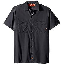 Dickies - - Camisa Industrial Corto Trabajo manga - LS535