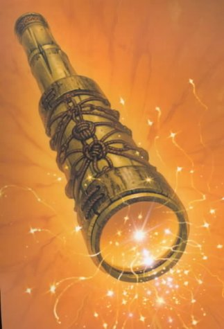 Book cover for The Amber Spyglass