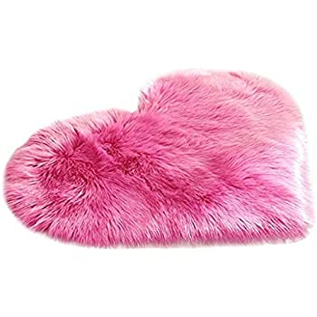Cute Girls Pink Unicorn Small Size Rugs Fluffy Bedroom