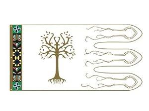 Noble Collection fpl3004-El Señor de los Anillos Bandera de Boromir