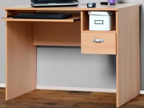 PC-Tisch Computertisch Buche BV-VERTRIEB Schülerschreibtisch Buche - (2201)