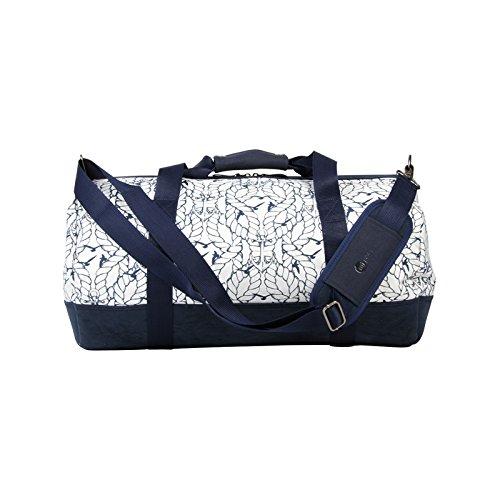 Mi-Pac Shoulder Bags et Luggage Sac de Voyage, 54 cm, 30 L, Polka Charcoal White