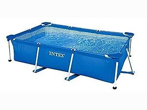 Intex Family Schwimmbecken, blau, 220 x 150 x 60 cm