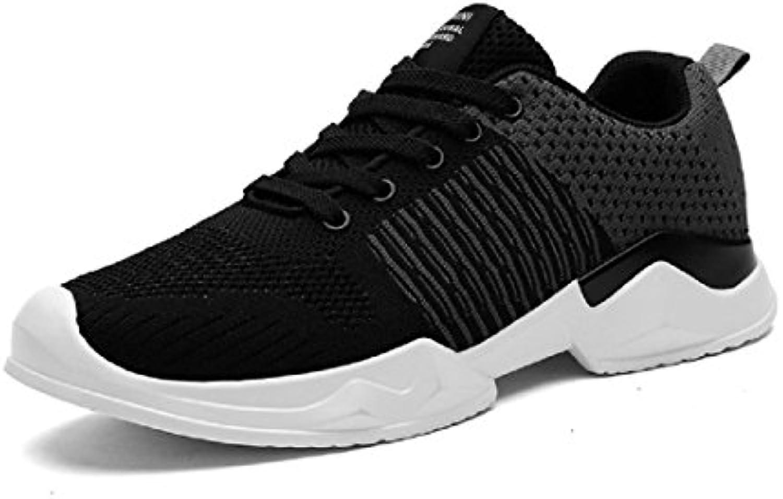Herren Winter Mode Sportschuhe Das neue Atmungsaktiv Laufschuhe Trainer Flache Schuhe Licht Draussen Schuhe EUR