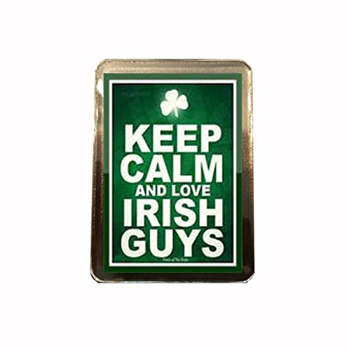 B Gifts Love Irish Guys - Novelty Keep Calm Fridge Magnet -