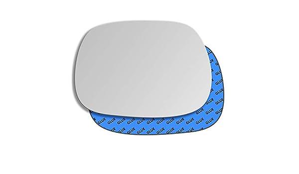 Gauche miroir convexe Verre TOYOTA RAV4 XA20 2000-2003 192LS