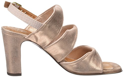 Chie Mihara Damen Crushli30 Sandalen Rose (Punti Powder Ante Metal Peach)