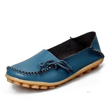 Confortevoli ed eleganti scarpe piatte mamma le scarpe di Libo nuovo stile di vendita calda Casual / Ufficio Fashion Comfort Appartamenti nero / giallo / blu marino / rosa / verde / Beige Black