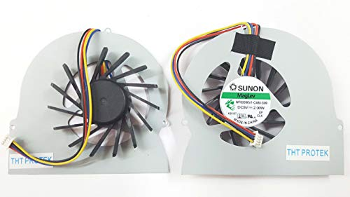 Kompatibel für HP EliteBook 8560W, 8560P Lüfter Kühler Fan Cooler Version 2