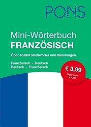 PONS Mini-Wörterbuch Französisch: Französisch-Deutsch/Deutsch-Französisch