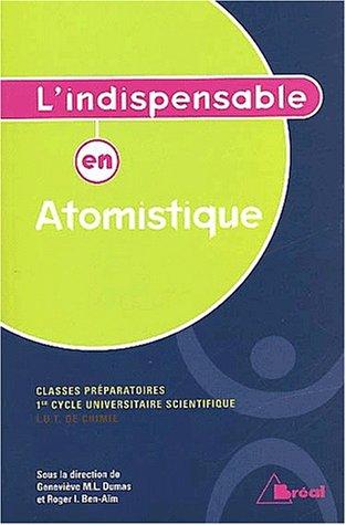 L'indispensable en atomistique