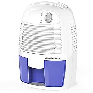 d shumidificateur electrique 500ml hysure portable d shumidification d 39 air contre l 39 humidit et. Black Bedroom Furniture Sets. Home Design Ideas