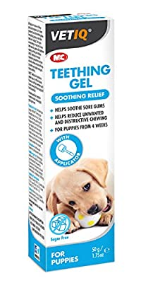 VetIQ Teething Gel for puppies 50g soothes and calms sore gums