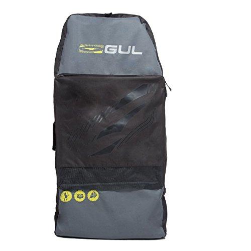 GUL Arica Bodyboard Tasche Back Pack für 5,1x 106,7cm Erwachsene Bodyboards. Schwarz/Gelb