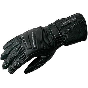 PROANTI Damen Motorradhandschuhe Damen Leder Motorrad Handschuhe Gr S-L