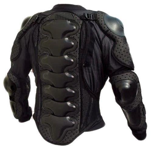 Protektorenjacke XL Brustpanzer Rückenprotektor (Größe XL) Schutzausrüstung für Fahrrad Bike Quad Motocross Motorrad Motorsport - Protektor Protektoren Jacke Motorradjacke - 2