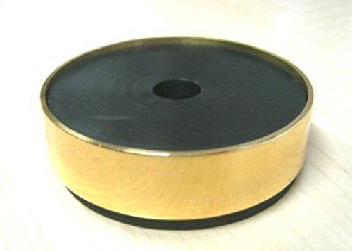 Untersetzer für Klavier und Flügel Schallhemmend Messing 57 mm Ø -Stück- -