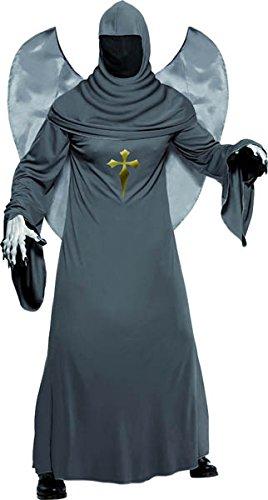 Smiffys Kostüm Engel des Todes Geisterkostüm Geist (Der Engel Des Todes Kostüm)