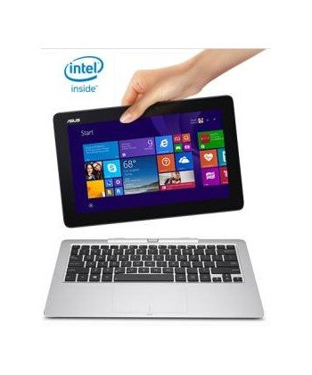 ASUS T200 Intel Z3775 Quad Core 2 GB 32 GB SDD nodvd 11,6 táctil Windows 8.1 WC 2-en-1