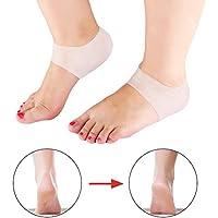 Silikon Gel Socken, Silikon Fersenschutz, 1 Paar Gel Socken für Cracked Heels, atmungsaktive Fußschutzhülse Plantar... preisvergleich bei billige-tabletten.eu