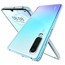 Huawei P30 Case, [Anti-Yellow] P30 Phone Case Ultra Slim Thin Soft TPU Protective Case Cover for Huawei P30 - Cyrstal Clear