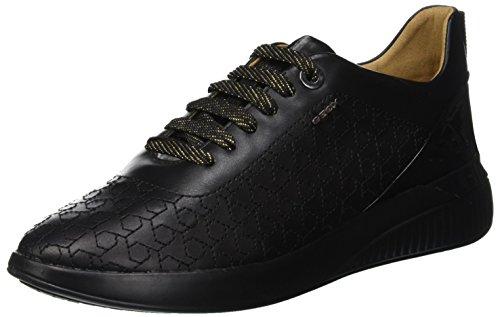 9b220070 Geox D Theragon C, Zapatillas para Mujer, (Black C9999), 37 EU