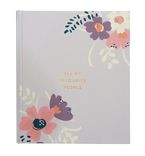 Image of Busy B KTwo Floral Address Book Large