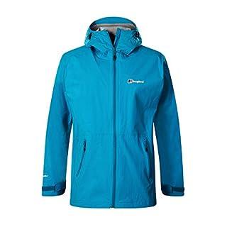 berghaus Herren Stormcloud Waterproof Jacket Wasserfeste Jacke, Adriatic (Grey), XXL
