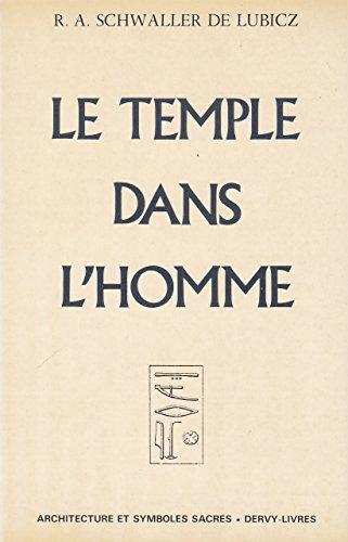 TEMPLE DANS L'HOMME