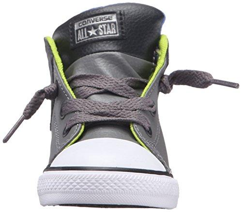 Converse Kids CTAS Mid-K Charcoal Grey/Black/White