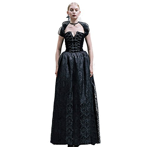 Devil Fashion Female Steampunk Gothic Palace changeable Slim Fit Dress (XL) steampunk buy now online