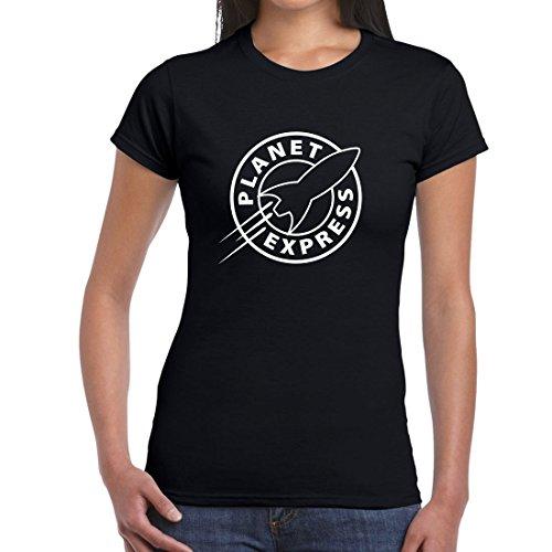 Futurama Planet Express Fun Ladies Women T Shirt Tee