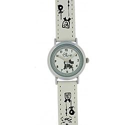 Chipie Mädchen-Armbanduhr Analog Kunststoff weiß 5209504