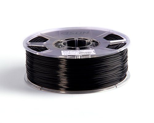 eSun 3D Filament - ABS, 1kg / 1.75mm - Schwarz (black), Druck Tempe. 220-260 Grad C, Universal für 3D Drucker z.B. MakerBot RepRap MakerGear Ultimaker Mendel Huxlep UP Thing-o-matic