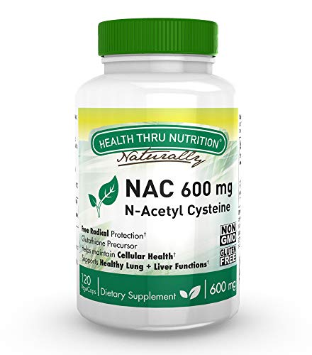 NAC 600 mg vegecaps