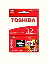 Toshiba 5300056 Exceria M302 32gb Micro Sd Memory Card 90 Mbs 4k - Thn-m302r0320ea