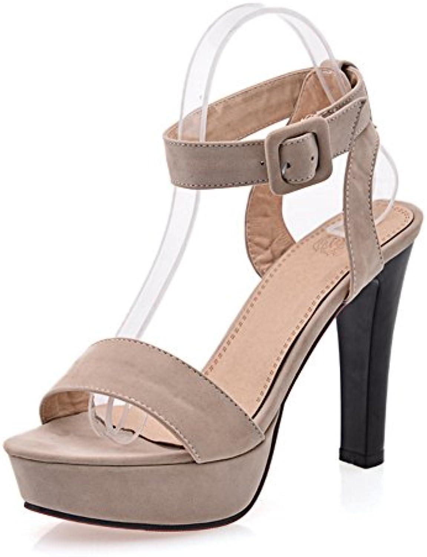 Adee - Sandalias de vestir para mujer, color beige, talla 38 -