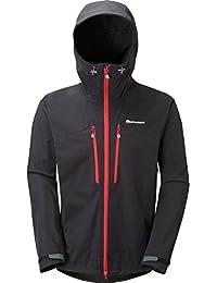 Montane para hombre Sabretooth chaqueta–negro, hombre, negro, XL