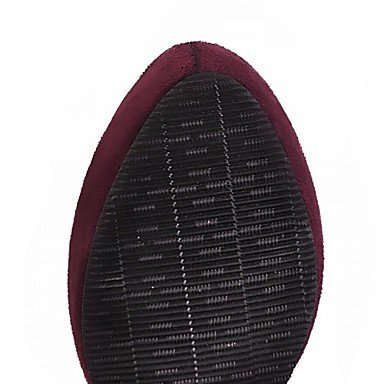 Heart & M Womens Botines Botas De Montar Cómodo Innovador Primavera Invierno Cuero Sintético Casual Cremallera Cuadrado Negro Rojo Azul10 - 12 Azul