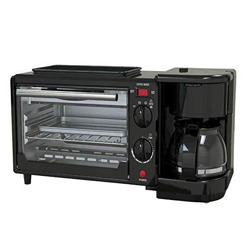 SJZC Backofen Minibackofen Mini Mit Ofen Umluft Pizzaofen Oven Miniofen Pizza Mikrowelle Und Grill Kleiner (Umluft-backofen-grill)