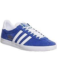Adidas Gazelle OG G16183 Mens Suede Trainers Blue White - 46 EU