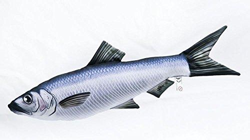 Kissen Fisch Hering 60cm Kuschelfische Kuscheltie Kopfkissen Plüschtier