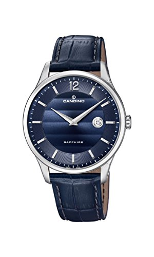 Candino Mens Analogue Classic Quartz Watch with Leather Strap C4638/3