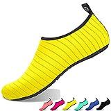 LANSEYAOJI Scarpe da Immersione per Donne Uomo Bambini Scarpe da Acqua Ragazze Ragazzi Scarpe da Spiaggia a Piedi Nudi Scarpe da Bagno Unisex per Beach Nuoto Surfing Yoga Sport Acquatici