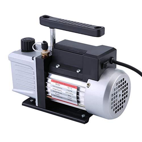 Sweepid Bomba de vacío 3.5CFM 1/3HP 220V 50Hz 5Pa bajo Impresión Bomba...